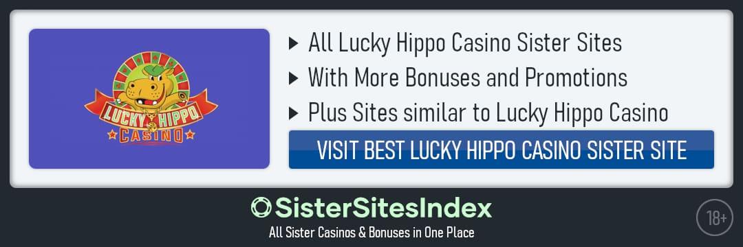 Lucky Hippo Casino sister sites