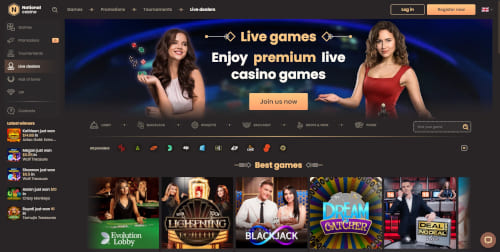National Casino Live Casino