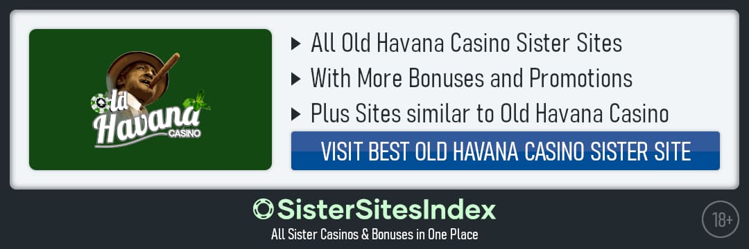 Old Havana Casino sister sites