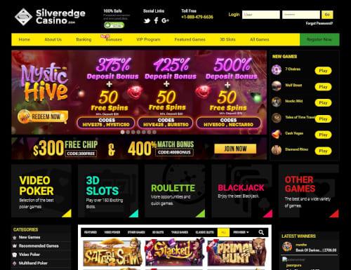 Silveredge Casino Bonus