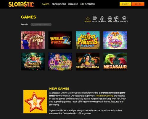 Slotastic Games