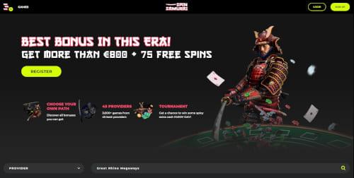 Spin Samurai Bonus