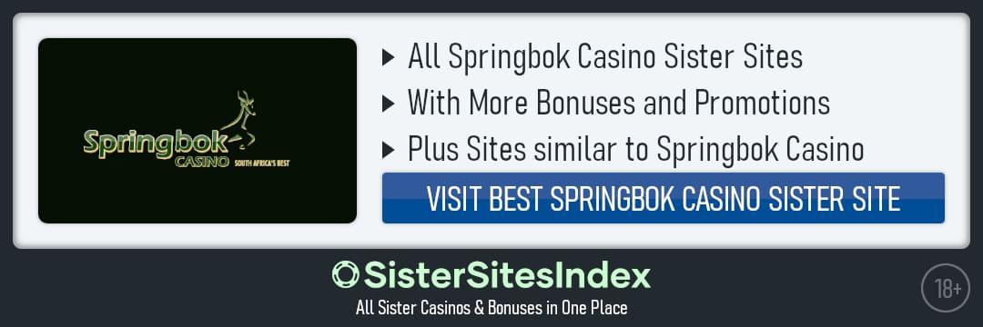 Springbok Casino sister sites