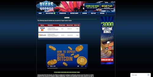 Vegas Casino Online Banking
