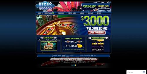 Vegas Casino Online Bonus