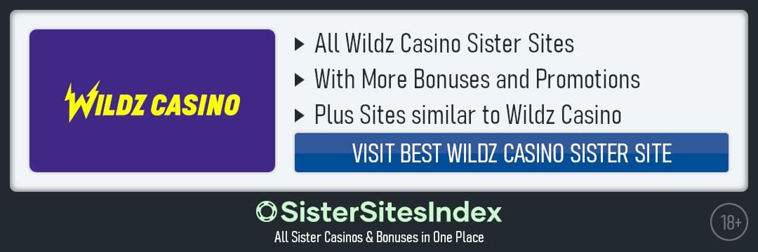 Wildz Casino sister sites