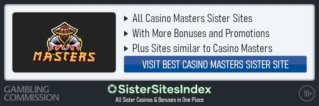 Casino Masters sister sites