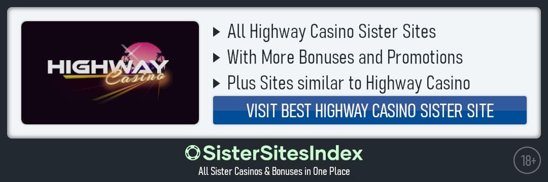 Highway Casino sister sites