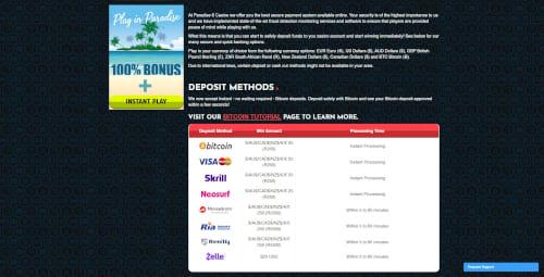 Paradise 8 Banking