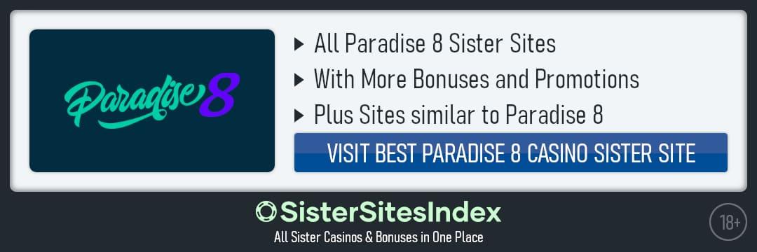 Paradise 8 sister sites