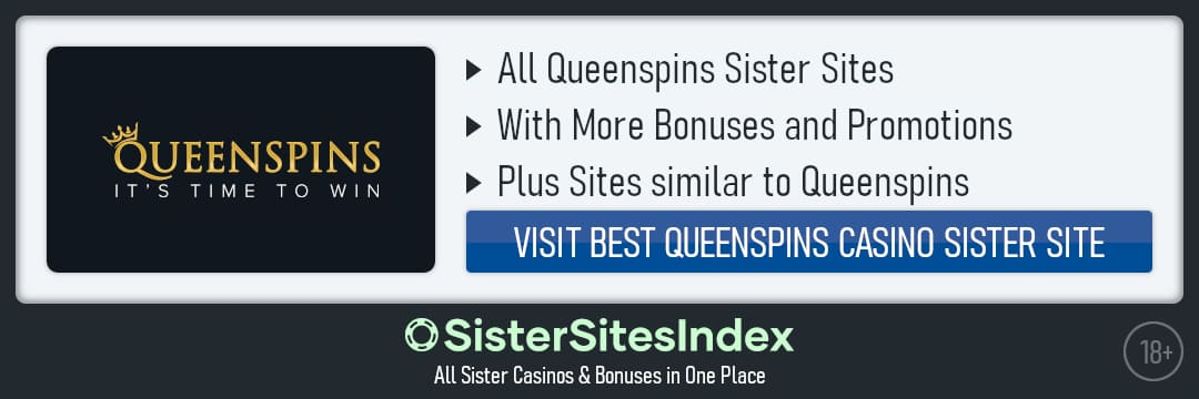 Queen spins sister sites