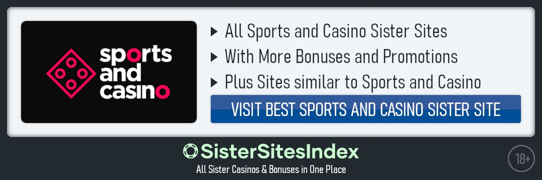 Sports and Casino sister sites