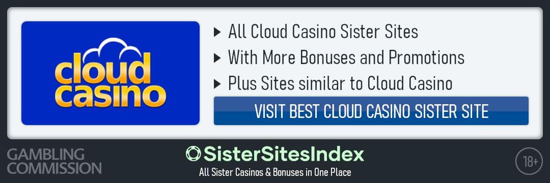 Cloud Casino sister sites