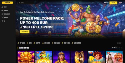 Fightclub Casino Bonus