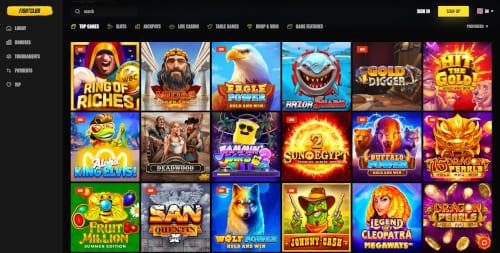 Fightclub Casino Games