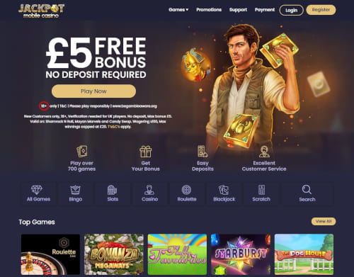 Jackpot Mobile Casino Bonus