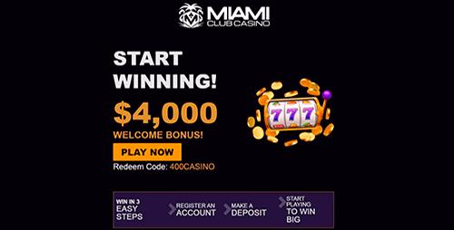 Miami Club Bonuses