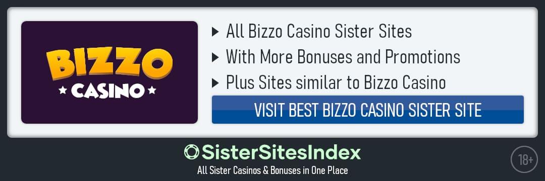 Bizzo Casino sister sites