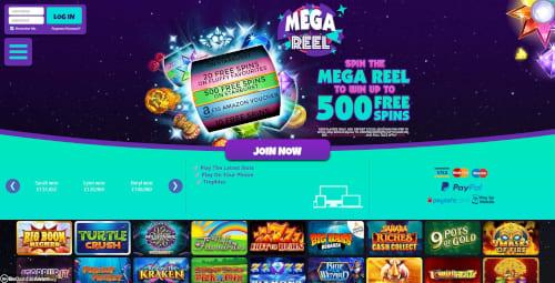 Mega Reel Bonus