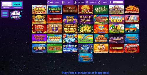 Mega Reel Games